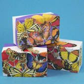 Craft project: Learn the basics of decoupage by decorating a box made from cardstock with images printed on your color printer. The same technique can be used to decoupage wooden boxes, glass vases or plates, etc. Wooden Box Crafts, Old Wooden Crates, Small Wooden Boxes, Wooden Gift Boxes, Craft Stick Crafts, Decor Crafts, Easy Crafts, Arts And Crafts, Paper Crafts