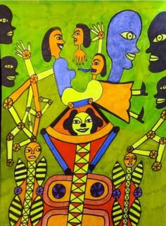 A drawing by US artist Crazy Hollis. Art Brut, Outsider Art, The Outsiders, Gallery, Drawings, Collection, Dibujo, Artists, Fiction