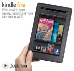 "Kindle Fire - Full Color 7"" Multi-Touch Display with Wi-Fi - More than a Tablet"