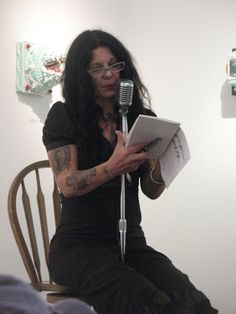 "johnette napolitano Reading from ""Rough Mix"""