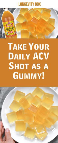 Take Your Daily ACV Shot as Gummy!