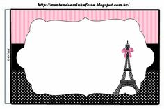 Paris: Free Printable Candy Bar Labels.   Oh My Fiesta! in english