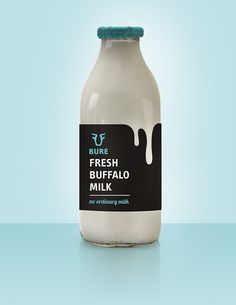 Branding and Packaging design for a buffalo milk farmers Dairy Packaging, Honey Packaging, Food Packaging Design, Beverage Packaging, Coffee Packaging, Bottle Packaging, Packaging Design Inspiration, Brand Packaging, Yogurt Packaging