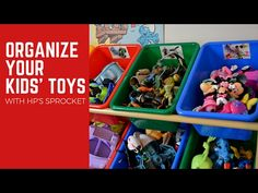 Video Tutorial: Organize Your Kids' Toys with HP Sprocket