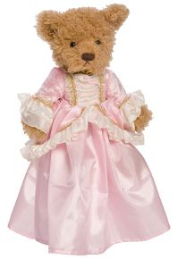 This astonishing doll dress will match your child's own Princess Anneliese Dress down to the last detail. The beautiful velvet pink dress fits perfectly on the 18 American Girl Dolls Dress Up Outfits, Kids Outfits, Pink Velvet Dress, 18 Inch Doll, Toys For Girls, Doll Accessories, Little Princess, Girl Dolls, Parisian
