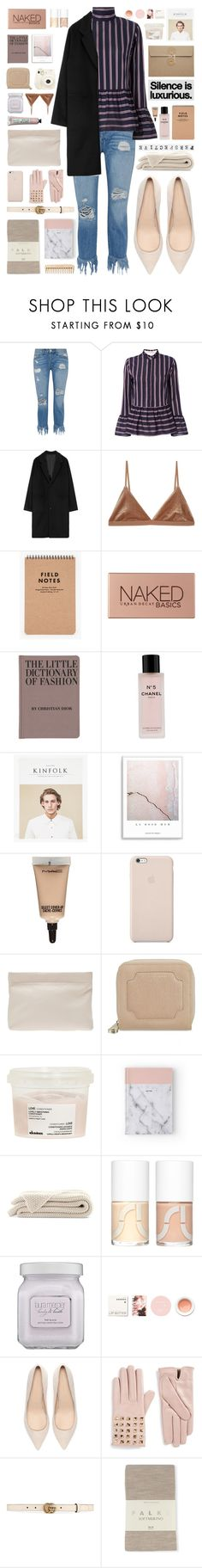 """Untitled #301"" by vendre-du-reve ❤ liked on Polyvore featuring 3x1, Le Sarte Pettegole, Base Range, Urban Decay, Jayson Home, Chanel, MAC Cosmetics, Black Apple, Acne Studios and Aspinal of London"