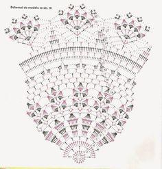 znalezione w Internecie, serwetka. Crochet doily patterns