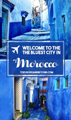 Why bother with a monochrome world when you can live in technicolor? http://toeuropeandbeyond.com/the-blues-of-chefchaouen/ #travel #Morocco