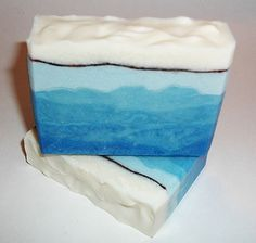 Blue Ridge Mountain Silk Soap in Mountain Meadow scent.
