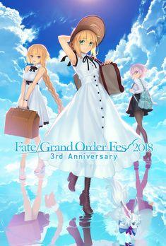 "FGO PROJECT、リアルイベント「Fate/Grand Order Fes. 2018~3rdAnniversary~」を発表 ""Journey""がコンセプトの施策や初のライブも | Social Game Info"