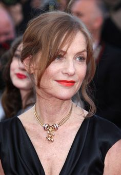 """Isabelle Huppert Isabelle Huppert arrives before the screening of """"The Tree of Life"""", held during the 64th Annual Cannes Film Festival."""