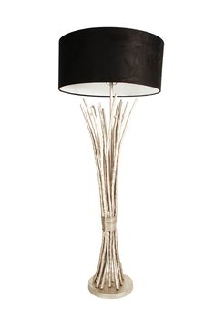 1000 images about rustic chic lamps on pinterest for Silver twig floor lamp