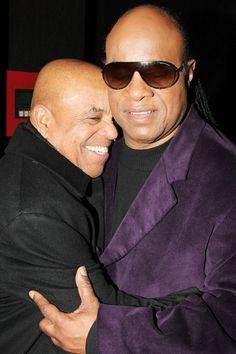 Berry Gordy Motown Stevie Wonder Berry Gordy, Stevie Wonder, Motown, Singers, Musicians, Legends, Mens Sunglasses, Film, Natural