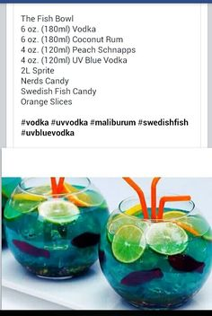 Awesome mix drink