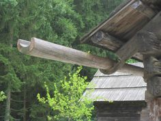Old wooden gutters - Google Search