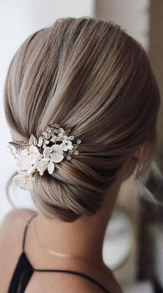 Blonde Bridal Hair, Pixie Wedding Hair, Curly Wedding Hair, Romantic Wedding Hair, Vintage Wedding Hair, Wedding Hair Down, Wedding Updo, Low Updo Hairstyles, Short Hair Updo