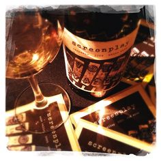 2009 Screenplay Carneros White Wine Blend - Delicious and a perfect gift for your favorite wino film buff!   ★ wine photography by p e n e l o p e #wine #photography #Penelope