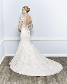 Kenneth Winston Couture Style 1659 #weddingdress #bridal