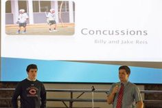 2 teens' message: Play smart, stay smart