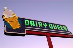 Enjoy a tasty treat from Dairy Queen for less. Just enter the Dairy Queen Customer Survey and you will receive a free validation code for a special offer. Dairy Queen, Orange Julius, Vintage Neon Signs, Fast Food Restaurant, Soft Serve, Lake City, Free Food, Fun Facts, Summertime