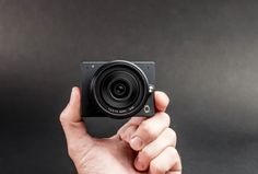 E1 is a 4K camera with interchangeable lenses - but it's like the size of a GoPro - Pocket-lint