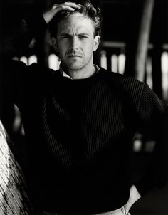 Kevin Costner photographed by Greg Gorman, c. Hollywood Actor, Classic Hollywood, Tv Actors, Actors & Actresses, Arte Van Gogh, Mr Darcy, Intelligent People, Kevin Costner, Cinema Movies