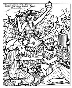 octarine coloring pages | The colors of Chaos. My Octarine is embodied by the ...