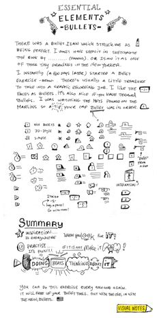 Visual Notes blog: WytzeVeenstra - Sketchnote Army - A Showcase of Sketchnotes