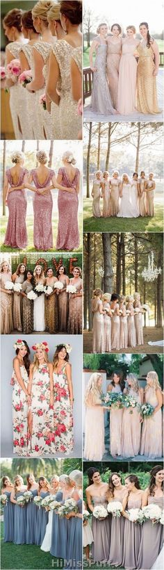 100 Bridesmaid Dresses So Pretty, They'll Actually Wear Them Again / http://www.himisspuff.com/bridesmaid-dress-ideas/