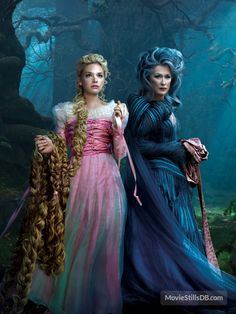 Into the Woods promotional art with Meryl Streep & Mackenzie Mauzy