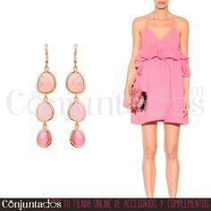 Los Alba en bonitos colores rosas son unos finos #pendientes muy cómodos, que no pesan prácticamente nada. Ideales para poner el broche a un estilo romántico y elegante esta primavera - verano ★ Precio: 11,95 € en http://www.conjuntados.com/es/pendientes/pendientes-largos/pendientes-alba-en-tonos-rosas.html  ★ #novedades #earrings #conjuntados #conjuntada #joyitas #jewelry #bisutería #bijoux #accesorios #complementos #moda #fashion #fashionadicct #picoftheday #outfit #estilo #style