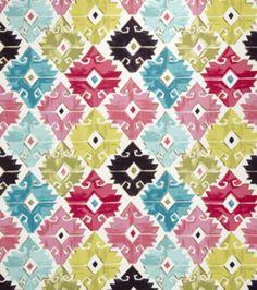 Home Decor Print Fabric Eaton Square Rogue Tropical Geometric