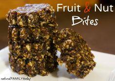 Homemade Fruit and Nut Energy Bites