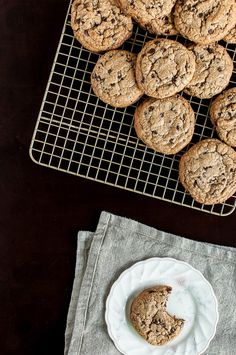 The Ultimate Paleo Chocolate Chip Cookies by @imnochef James Trenda food.jamestrenda.com #paleo