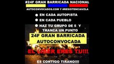 VENEZUELA #24FGran Barricada Nacional