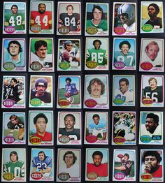 1976 Topps Football Cards Complete Your Set You U Pick From List 201-400