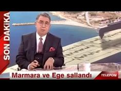 Canlı Yayında Depremi Bildi - YouTube