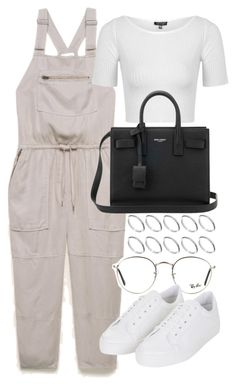 """""""Untitled #19960"""" by florencia95 ❤ liked on Polyvore featuring Topshop, Ray-Ban, Yves Saint Laurent and ASOS"""