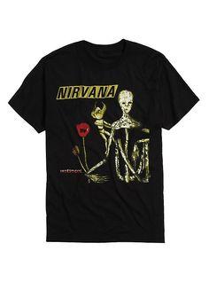 Nirvana Incesticide T-Shirt, BLACK