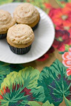 burnt butter & pecan cupcakes