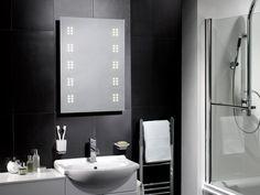 Vienna 600 x 500 LED Illuminated Bathroom Mirror - Pebble Grey Bathroom Mirror Lights, Led Mirror, Grey Bathrooms, Small Bathroom, Illuminated Mirrors, Pebble Grey, New Years Sales, Traditional Bathroom, Bathroom Accessories