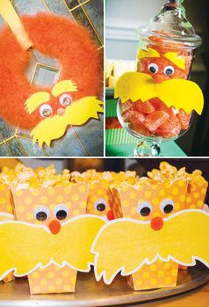 The Lorax! {party crafts}