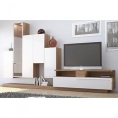 Meuble TV mural Stair UNE EXCLU ATYLIA prix promo Atylia 999,00 € TTC au lieu de 1 998,00 €