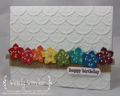 Wickedly Wonderful Creations: Birthday Cards for Display