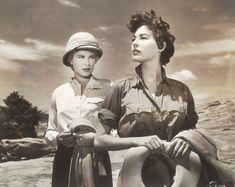 "don56: ""Grace Kelly and Ava Gardner in ""Mogambo"" """