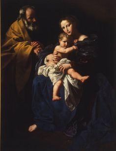 Bartolomeo Cavarozzi: Sagrada Familia.