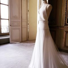 This month we've been all about the new season of wedding dresses and this Delphine Manivet bridal gown is no different. Simply stunning http://www.londonfittingrooms.com/le-boudoir/fashion-instagram-roundup-july-2015