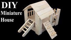 Diy Hamster House, Hamster Diy Cage, Hamster Toys, Diy Rat Toys, Popsicle Stick Houses, Disney Diy Crafts, Bedroom Crafts, Pet Mice, Rat House