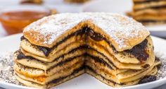 Breakfast Lunch Dinner, Best Breakfast, Crepe Cake, Mille Crepe, Hungarian Recipes, Cookie Recipes, Peanut Butter, Pancakes, Favorite Recipes