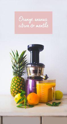 Depuis un bon moment j'ai très envie de vous présenter par ici des recettes très simples à réaliser de jus frais, smoothies et autres boissons froides ou chaudes. Et puisque hier nous fêtions l'arrivée de l'été je me suis dit que le timing était parfait pour vous faire une première recette de jus frais. Avant … Juice Drinks, Juice Smoothie, Smoothie Drinks, Smoothie Recipes, Fruit Drinks, Detox Recipes, Raw Food Recipes, Vegan Food, Dessert Recipes